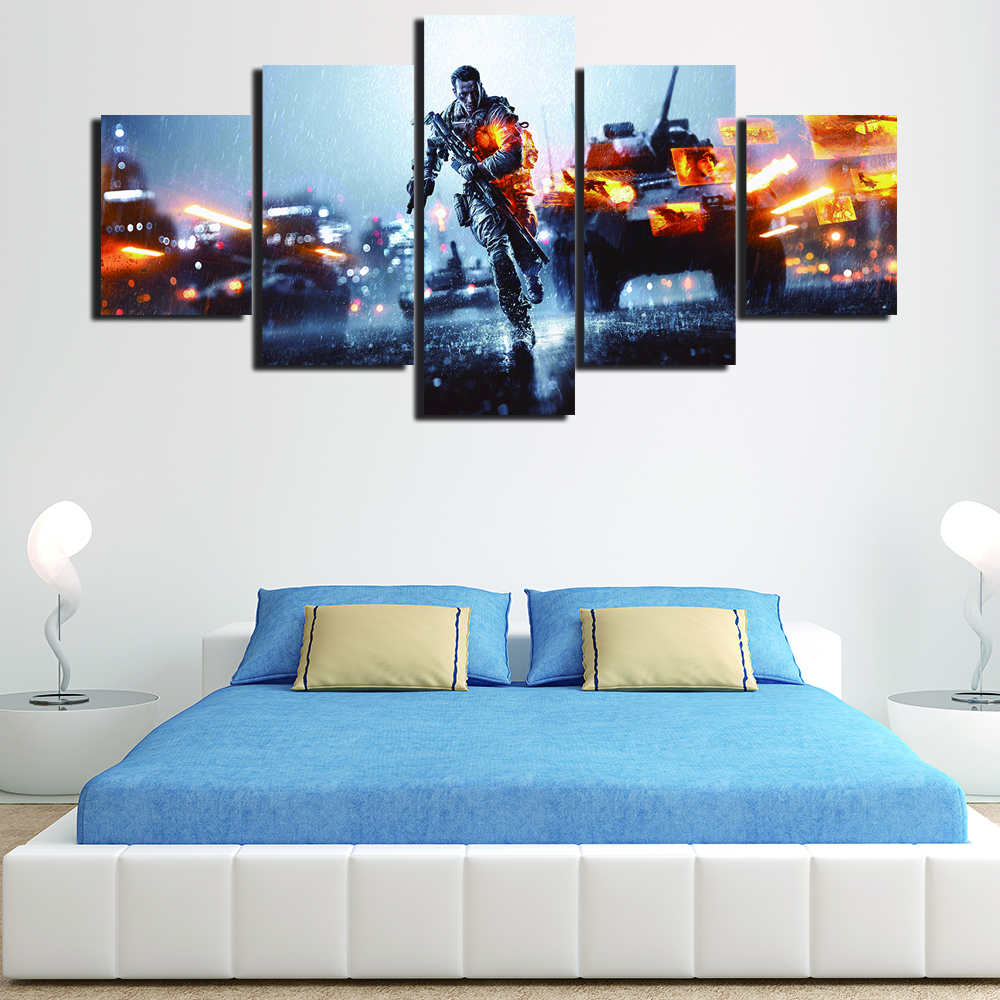 2017 Unframed Canvas Modern Painting Movie Printed Pictures Home Decoration