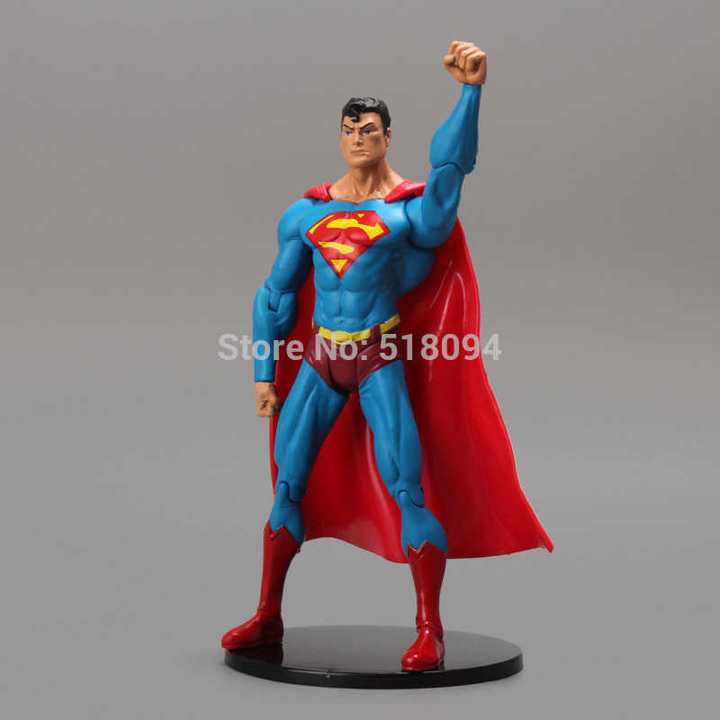 "DC Comics Superhero Superman PVC Action Figure Koleksiyon Model Oyuncak 7 ""18 cm"