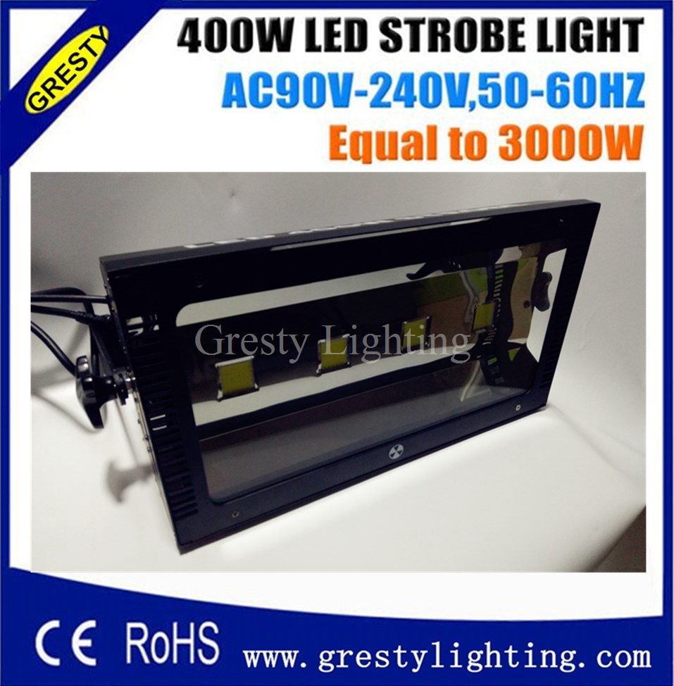 Same as matrin 400w led strobe light High Power 400W Led Strobe Light 4*100W Same 3000W Strobe Lights Led Stage Effect 90V-240V