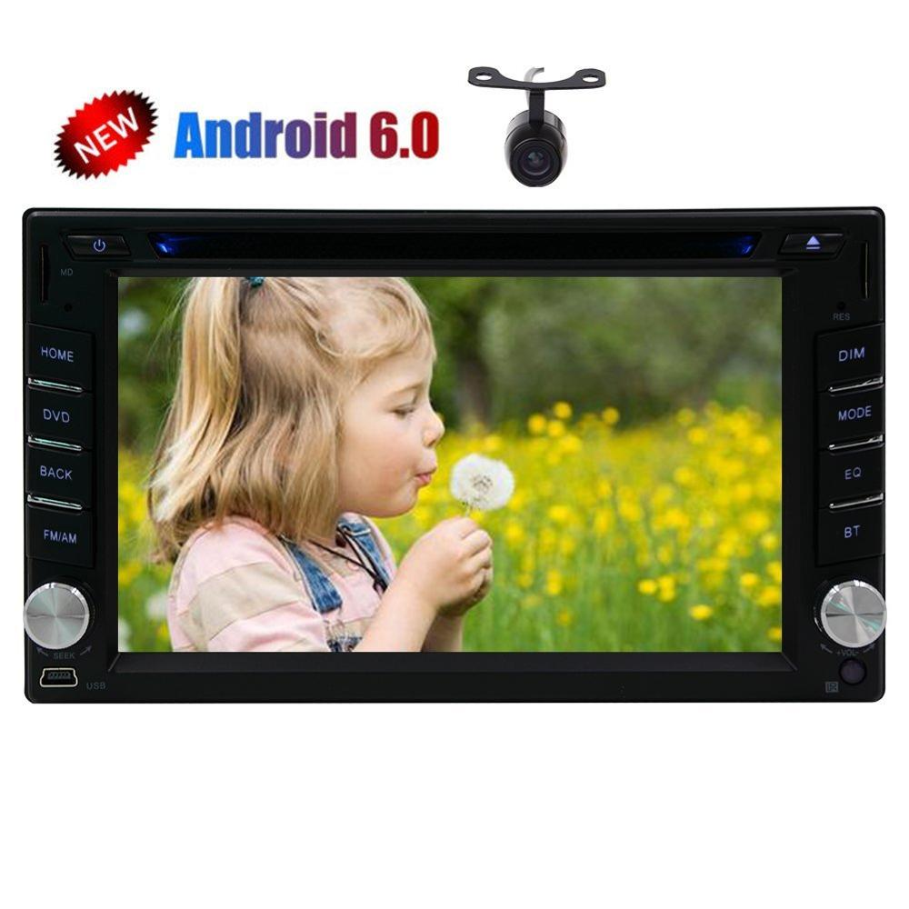 Android 6.0 2 Din Car Stereo DVD Player for Universal Double 2din Auto Audios GPS Navigation Car CD DVD Multimedia SWC FM Radio